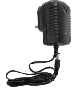 12v 1000mA charger with power light