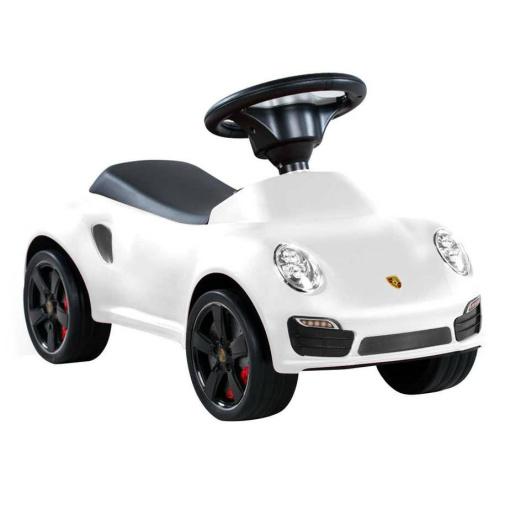 White Licensed Porsche 911 Foot to Floor Ride on