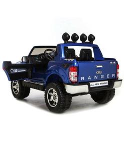 Blue 12v Licensed Ford Ranger Pickup Truck Ride on 2 seater-99