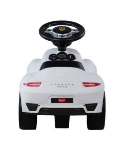White Licensed Porsche 911 Foot to Floor Ride on-201