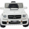 Licensed Large White 12v Mercedes G63 AMG Ride on Jeep with Parental Remote Control-0