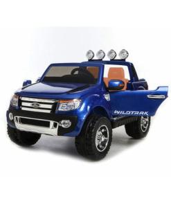 Blue 12v Licensed Ford Ranger Pickup Truck Ride on 2 seater-100