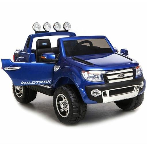 Blue 12v Licensed Ford Ranger Pickup Truck Ride on 2 seater-97