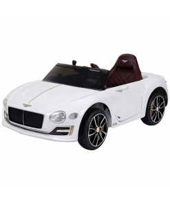 12v White Bentley EXP12 Electric Ride on Car