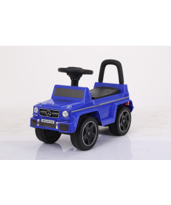 Blue Licensed Mercedes G63 AMG Foot To Floor Ride On Car