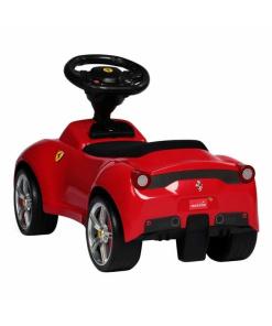 Red Licensed Ferrari 458 Foot to Floor Push Along Ride on