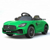 Mercedes GT R AMG Ride on car in Green Mercedes Logo