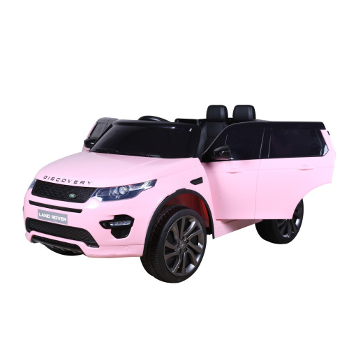 Pink 12v Land Rover Discovery Sport ride on car
