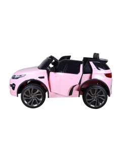 Land Rover Discovery Sport kids pink car