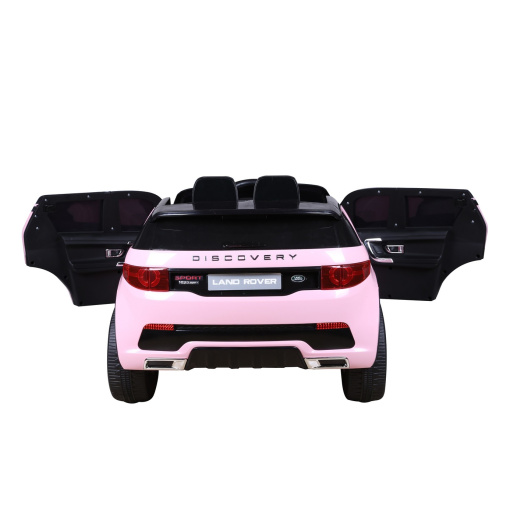 Pink Land Rover Discovery Sport SUV Jeep 12v Electric Ride On Car + Parental Remote Control HL2388-721