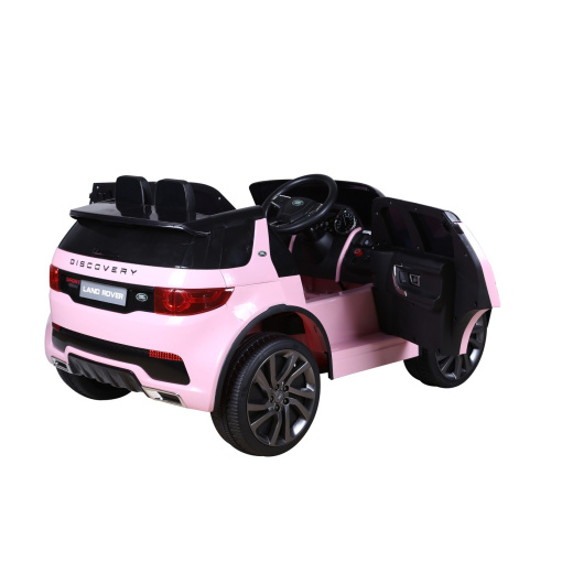 Pink Land Rover Discovery Sport SUV Jeep 12v Electric Ride On Car + Parental Remote Control HL2388-723