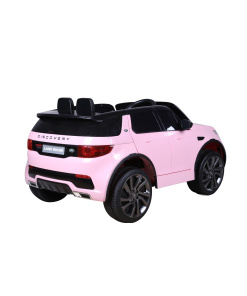 Pink Land Rover Discovery Sport SUV Jeep 12v Electric Ride On Car + Parental Remote Control HL2388-722