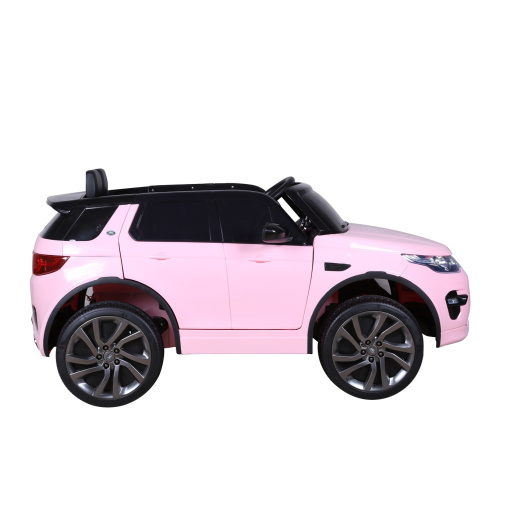 Pink Land Rover Discovery Sport SUV Jeep 12v Electric Ride On Car + Parental Remote Control HL2388-724