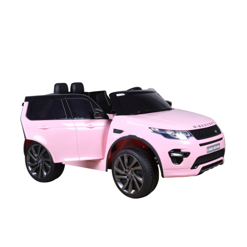 Pink Land Rover Discovery Sport SUV Jeep 12v Electric Ride On Car + Parental Remote Control HL2388-725