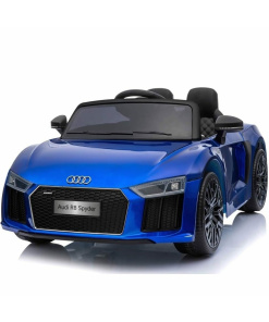 12v Blue audi r8 spyder ride on car
