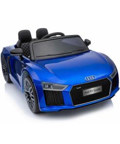 12v Blue audi r8 spyder ride on car with parental remote control