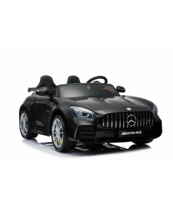 12v 2 Seater Mercedes GT R AMG Electric RIde on Car in black