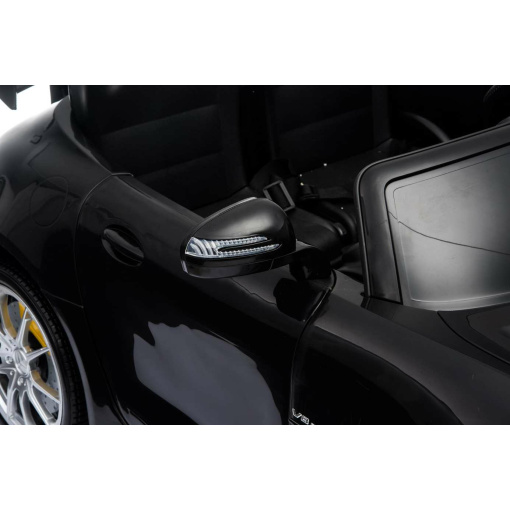 12v 2 Seater Mercedes GT R AMG Electric RIde on Car with wing mirrors