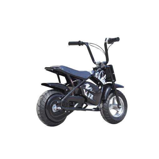 black 250w electric mini moto dirt bike