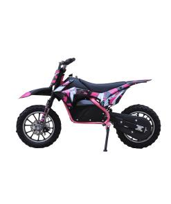 dirt bike in pink