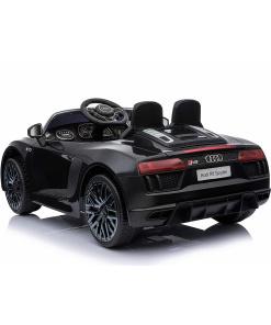12v Blackaudi r8 spyder ride on car with remote