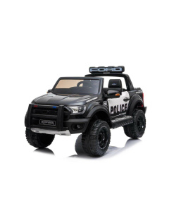 FORD RAPTOR POLICE BLACK RIDE IN KIDS ELECTRIC CAR WITH REMOTE