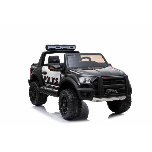 KIDS POLICE blackJEEP RIDE ON CAR