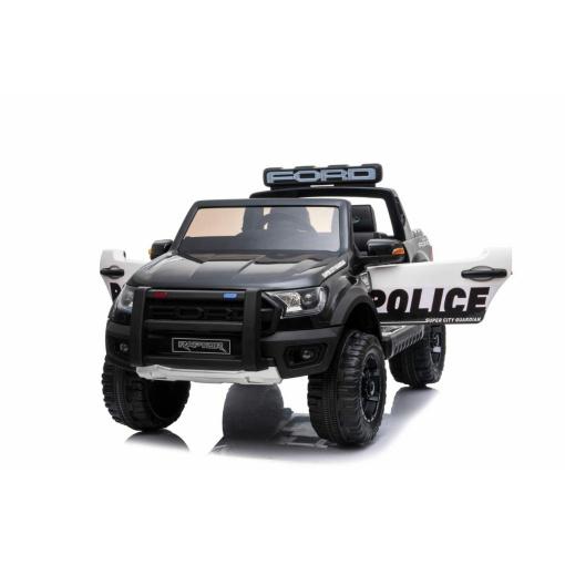 KIDS POLICE FORD RAPTOR IN BLACK
