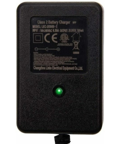 e-scooter ride on mains charger