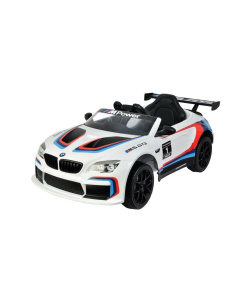 12v White BMW M6 GT3 Electric Ride on Car