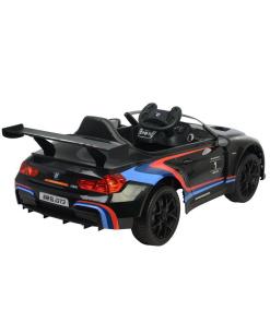 12v Black BMW M6 GT3 Electric Ride on Car