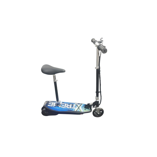 blue electric 120w kids scooter