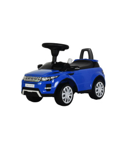 Blue Licensed Range Rover Evoque Foot to Floor Push Along Ride on