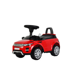 Red Licensed Range Rover Evoque Foot to Floor Push Along Ride on