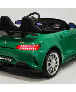 mercedes gt-r 2 seater ride on kids car