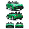 2 Seater - Green Mercedes GT R AMG 24v Electric Ride On Car 4WD with MP4 Player HL289-0