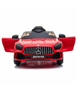 Mercedes GT R AMG Ride on car in red 12V