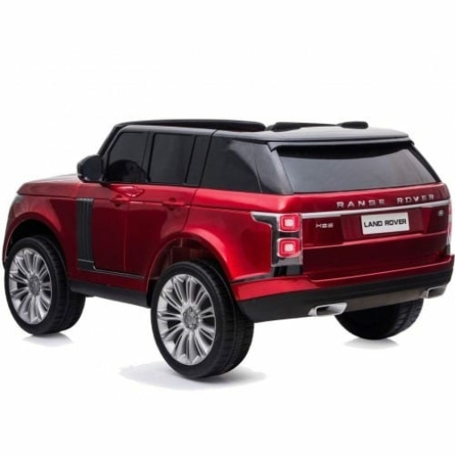 red range rover vogue kids ride on car