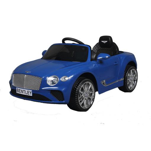 12v Blue Bentley Continental GT ride on kids car