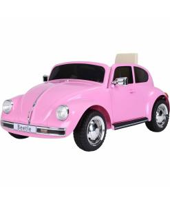 Kids-retro-style-vw-beetle-12v-ride-on-car-pink