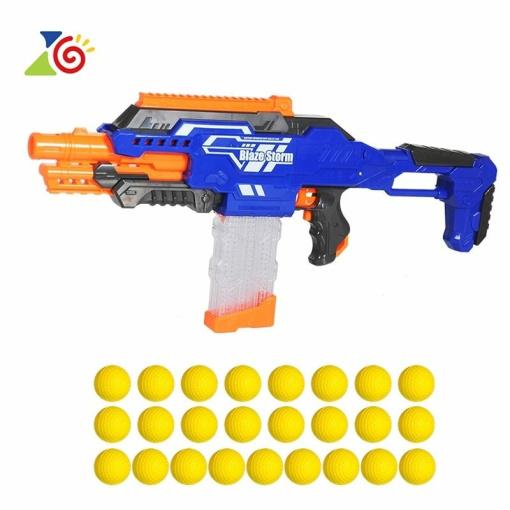 nerf style large ammunition machine gun