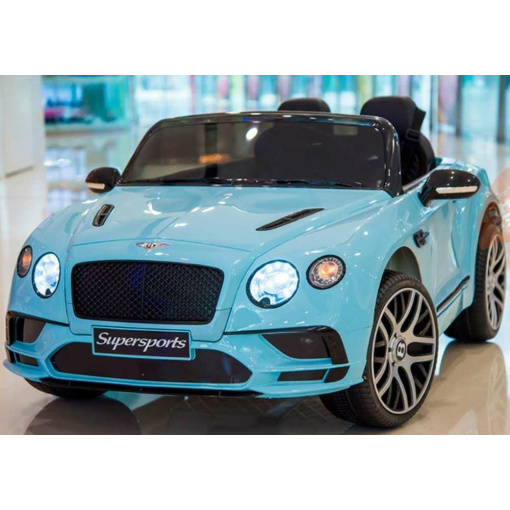 Blue Bentley Ride On Car for 2 kids
