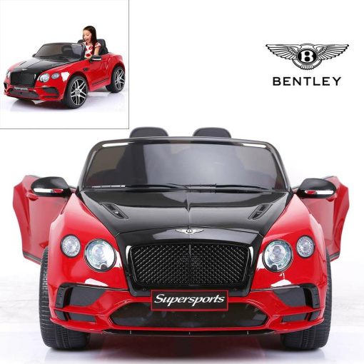 BENTLEY SUPERSPORT 2 SEATER KIDS ELECTRIC CAR WITH REMOTE