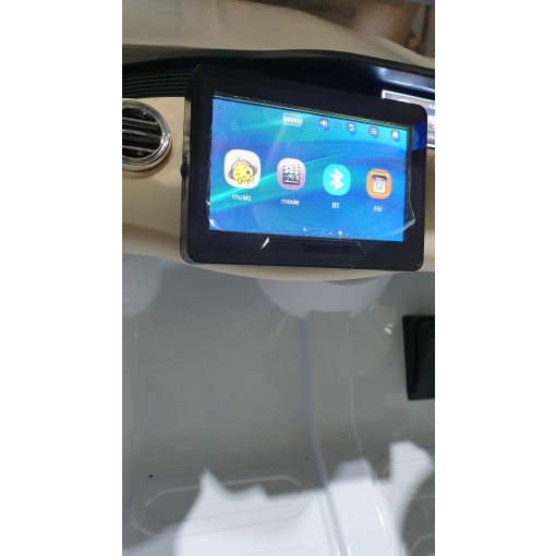 MP4 TV For kids ride on mercedes car