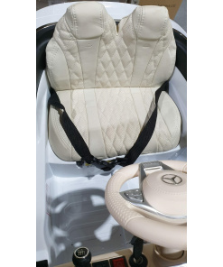 Maybach Leather Interior kids ride on car