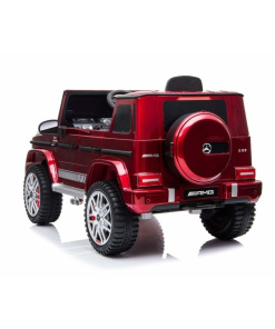 bbh0003 wine red g63 large kids ride on car
