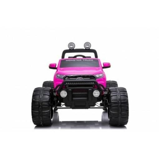 kids ride on monster truck girls pink