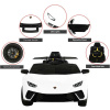 Kids ride on Lamborghini electric car