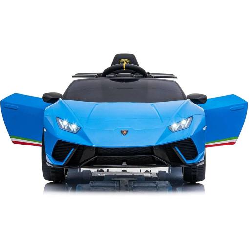 Lamborghini Blue Kids ride on car