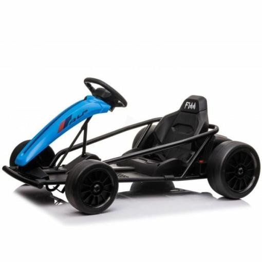 Blue drift go kart